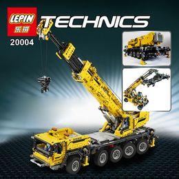 Wholesale In stock LEPIN technic series Motor power mobile crane MK Model Building blocks Bricks Compatible with LEGOe