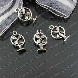 (23053) Bijou de Mode, Accessoires, charme, pendentif, alliage Antique Silver 15 * 11MM électrique fan 50PCS à partir de ventilateurs électriques anciennes fournisseurs