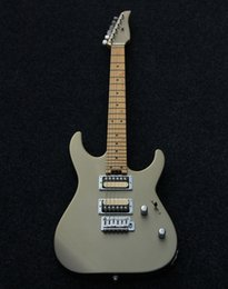 Wholesale SHIJIE electric guitar Tone Master series ARTEC KOREA pickups champagne color body electric guitar