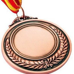 Wholesale DHL Custom Vairous Metal Medals Make Sports Award Different Size Ribbon Blank Or With Your Logo Medal