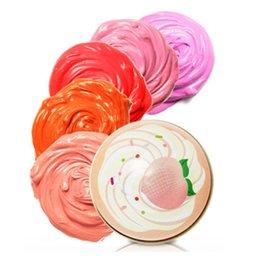 Wholesale Original Korean Sweet Recipe Cupcake All Over Color Beauty Face Blush Powder Makeup Baked Cheek Color Make up Blusher Shadow