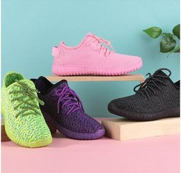 Wholesale Fashion sneakers Korean tidal shoes of old Beijing before the spring and summer women s shoes woven shoe color fly