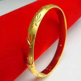 For a long time does not fade imitation gold bracelet female gold imitation gold bracelet bracelet 999 bride wedding jewelry clover