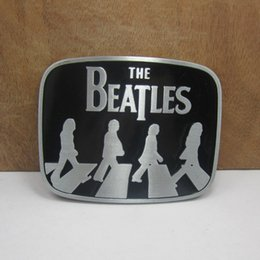 BuckleHome beatles belt buckle with pewter finish FP-02915 free shipping