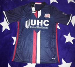 Wholesale 2016 MLS New revolution home sport jerseys shirts camiseta de fútbol Nguyen Davies Rowe