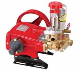 Wholesale Cast Iron High Pressure Triplex Plunger Pump Agricultural Sprayer Pump L min Big Capacity Spraying Machine
