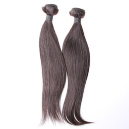 High Quality Indian Hair #1 Natural Color Straight 100% Real Human Hair Extension Mix Size A Pack Of Three 5A