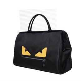 Wholesale Little monster Sports bag travel bag outdoor sports bag luggage bags folding travel bag gym sport hand bag