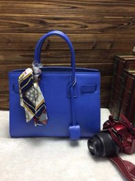 women bag 2016 hot lady leather handbag high-quality fashion handbags women messenger bags size 30*22*15cm DHL Free Shipping