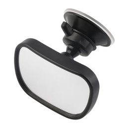 Wholesale Universal Car Rear Seat View Mirror baby monitor clip base Convex Shaped Child Safety View mirror