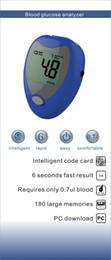 Wholesale Best Price Blood Glucose Meters Monitor Diabetics Test Glycuresis Monitor Blood Sugar Glucometer Medidor Strips Needles
