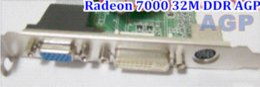Wholesale Brand New Sapphire ATI Radeon M DDR VGA DVI TVO AGP only more than AGP CARD