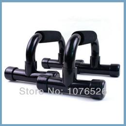 -Pousser en gros jusqu'à Cadre Push-up Bar Support Dip Poignée Chest Muscle Force Exercise Fitness Equipment LIVRAISON GRATUITE à partir de barres autoportantes fabricateur