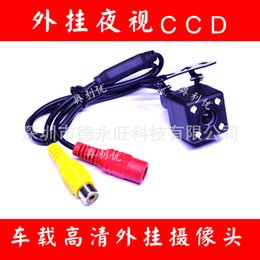 Promotional vehicle camera universal plug CCD HD LED night vision car camera