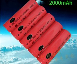 AW 18650 2000mah 3.7V high drain battery 20A AW IMR 18650 for mechanical mods E cigarette rechargeable lithium battery widely used