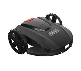 Wholesale LCD screen robotic mower garden mower with password working schedule waterproof intelligent lawn mower from Hangzhou