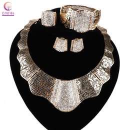 2016Women Trendy 18k gold jewelry set with earrings new arrival exclusive sales party necklace statement necklace