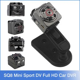 Wholesale SQ8 Mini Sport DV Camera P Full HD Car DVR MP SJ4000 Cam camcorder Voice Video Recorder