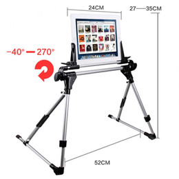 Wholesale New Universal Tablet Bed Frame Holder Stand for iPad air iPhone Samsung Galaxy Tablet PC Stands