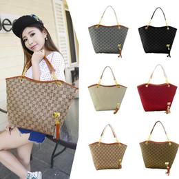 Wholesale Lady Shoulder Bag Brand New Fashion Vintage Tassel Women Handbag High Quality Canvas Chain Tote Shoulder Bags Casual Bags Banquet package