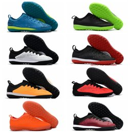 Mercurial Finale II TF Soccer Shoes Turf MercurialX Superfly Neymar Football Boots New Mens Soccer Cleats Low Ankle Cut Botas de Futbol 2017