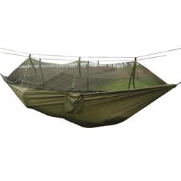 Al por mayor-aire denso Netted hamaca del paracaídas por Caminante tienda de campaña del 260 * 130cm árboles de dormir de alta strengt Naturehike cheap high tents desde altos tiendas de campaña proveedores