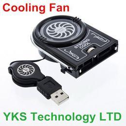 Wholesale Laptop PC Cooler degree Air Blower USB Ventilation CASE COOLING FAN COOLER PAD Cooler Cooling Fan