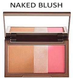 Wholesale DHL free delivery Flushed Blush Palette Colors Makeup Blusher Bronzer Highlighter Blush in Make up Pallete