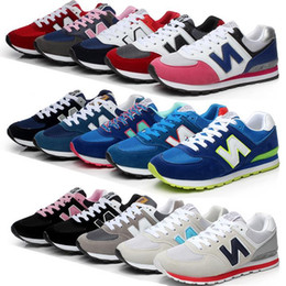 Women's Fashion Sneakers sports Casual shoes Free shipping N sneakers B men and women shoes size 35-44
