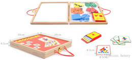 magnetic building blocks puzzle. Magnetic jigsaw puzzle, with double-sided sketchpad. development of the baby's creativity, enhance abi