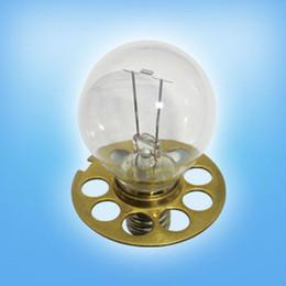 Wholesale-HAAG-STREIT Medical Halogen Bulb 6V27W P44S base HS366 OP2366 6V4.5A slit lamp ophthalmoscope lamp