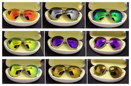 Wholesale Mens Designer Brands Sunglasses UV400 lense Glasses HIGH Quality alloy SUN Glasses men women sunglasses mixed order