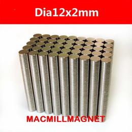 50Pcs lot N52 Strong NdFeB Magnets Bulk Super Round Disc Rare Earth Neodymium Magnet 12mm x 2mm,Free Shipping
