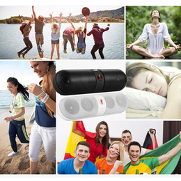 Wholesale Shockproof Portable Bluetooth Wireless FM Stereo Speaker For Smart Phone Laptop