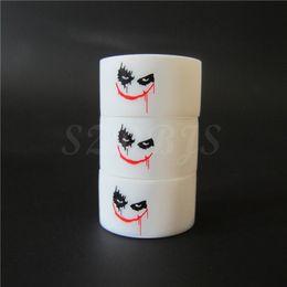 New Vape band 100pcs New products rubber anti-skidding white color joker logo silicone vape band ring
