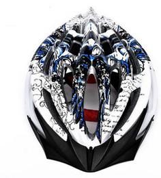 Descuento visera extraíble casco Ciclismo Casco de bicicleta Ultraligh MTB / casco de carretera visera extraíble Integralmente moldeado 23 agujeros Movimiento Cascos de seguridad Impresionante patrón