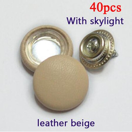 Genuine leather Car roof buckle head fall off repair special buckle fixed screw buckle car roof cloth off button Genuine leather