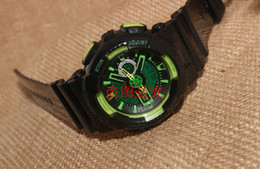 Wholesale Popular Mens Sports Hiking Watches LED Digital Baby G Wristwatch G110 Waterproof Shock Watch All function Work
