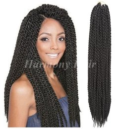 "3D Cubic Twist Crochet Braids Ombre 24"" 120g pack Ombre Crochet Braid Hair Extensions High Quality Kanekalon Braids Hair"