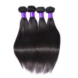 Wholesale Best Bellqueen Kiss Rain Hair A Brazilian Hair Silky Straight Weave Brazilian Straight Human Hair Extension No Smell