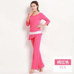 Wholesale Girl Women dancing uniform Yoga clothes Modal sportwear Yoga outfit high quality good design