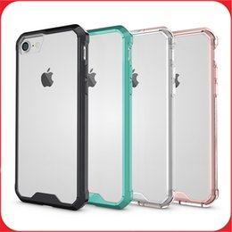 Wholesale Iphone Case Transparent Clear Hybrid Bumper Shockproof Phone Case Phone Accessories For Iphone plus