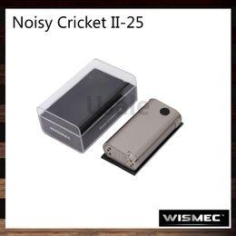Wismec Noisy Cricket II-25 MOD Noisy Cricket 2 Mod Best Match with Wismec Neutron RDA Atomizer 100% Original