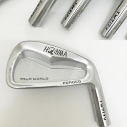 Hot sale New mens Golf Heads HONMA TOUR WORLD TW717V Golf Irons Heads 3-10 Golf club heads NO shaft Free shipping