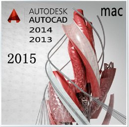 MAC Apple software AutoCAD 2013 2014 2015 for Mac supports English version 10.9