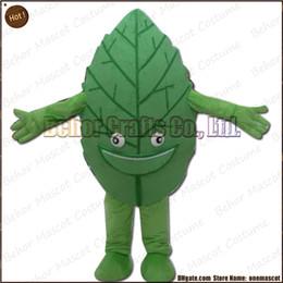 Costume de mascotte de commande en Ligne-Le costume de mascotte de feuilles la livraison libre, adulte bon marché de bande dessinée de mascotte de feuille de peluche de haute qualité, acceptent l'ordre d'OEM.