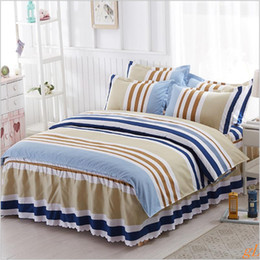 pink polyester cotton lovely home textile duvet set with free shipping