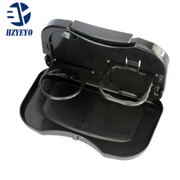 Car Seat Tray mount Food table meal Desk Stand Drink Cup Holder and multifunctional dining table for automobile