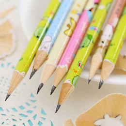 50 pcs lot Cute Cartoon Standard Pencil School Office Supplies Children Drawing Painting Pencil student stationery gift