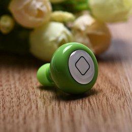 Wholesale CEL HOT Mini stereo Wireless Bluetooth headphone Earphone Handsfree Headset for iPhone S S fe17